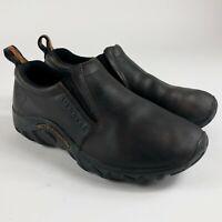 Women's Merrell shoes Jungle Moc Nubuck Slip On Brown Size 6 0602