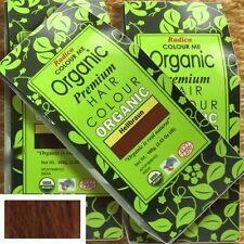 Radico Colour Me Organic Light Brown piante per capelli colore marrone chiaro 100g vegan bio