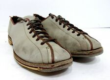 VTG Size 6 Narrow Ladies Bowling Shoes by Exclusively Yours Gray Leather