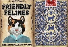 Friendly Felines Playing Cards Poker Size Deck USPCC Cats Custom Limited Edition