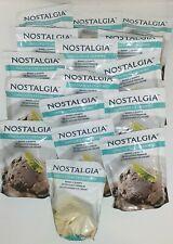 Lot of 15 New Nostalgia Chocolate Ice Cream Mix 8 oz + Free Vanilla Cream Mix