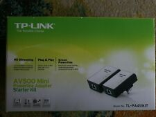TP-LINK AV500 Powerline Adapter Starter Kit (TL-PA411PKIT)
