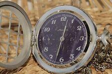 Vintage Molnija Pocket Watch Mechanical Vintage Watch