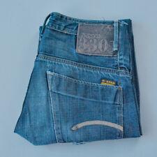 Vintage GStar 3301 Jeans Straight Button Fly Blue Men's (LabelW30L34) W 31 L 32