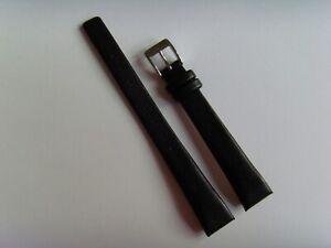 OBAKU Original Ersatz Lederarmband V150LABRB Uhrband watch strap schwarz black