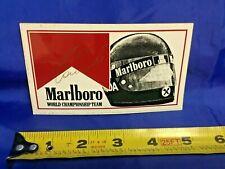 FORMULA 1 Marlboro Promo F1 NIKI LAUDA Helmet & Signature Logo VINTAGE DECAL