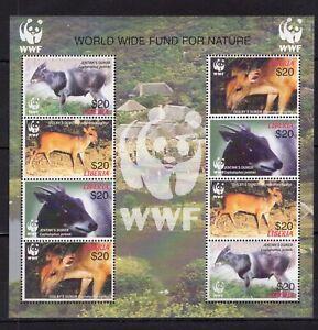 Sale! - Liberia - WWF - Wild Animals Briefmarken  stamps  MNH** M109