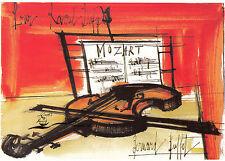 Kunstkarte: Bernard Buffet - Mozart