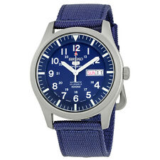 Seiko 5 Automatic Blue Dial Mens Watch SNZG11J1