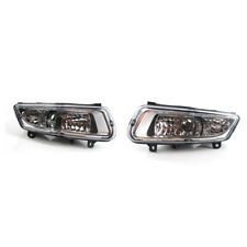 1 Set Top Front Lower Bumper Fog Light Lamp fit for VW Polo 11-13 MK8 12 Cool