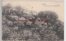 (88448) AK Guben, Kaminskys Berg in der Baumblüte, 1916