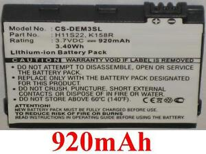 Batterie 920mAh Pour DELL type D986R H11B01B H11S22 K158R OK158R