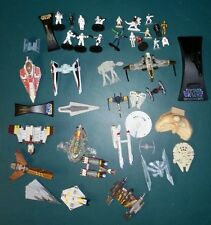 Star Wars Micro Machines Action Fleet Hot Wheels Die Cast Lot Pod figures Ship +
