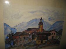 Engels Walter, * 1891 impresionista mundo de montaña