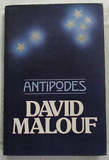 SIGNED Antipodes Short Stories By David Malouf 1st Ed HCDJ 1985   SCARCE