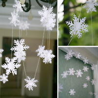 Eg _300cm Schneeflocke Girlande Eiskönigin Winter Wunderland Weihnachtsparty