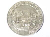 1950 1st Prize Waldershare Park Kent Romney Marsh Sheep Silver Medal #RM