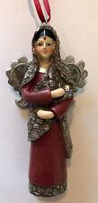 Angel Figure Christmas Tree Ornament International Holiday Decor