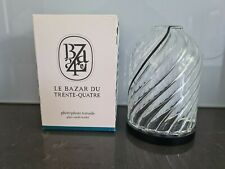 Diptyque mini Glass Candle Holder For 70g Candle