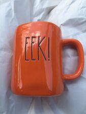 """Rae Dunn by Magenta Orange """"EEK"""" Halloween Mug"""
