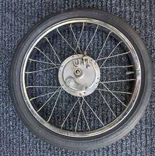 SCHWINN Krate Bicycle Front Wheel & Tire - Atom Drum Brake Hub 1968-73 Original