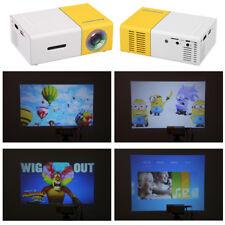 Home mini LED projector 320*240p 1080p AV USB SD HDMI For phone laptop PC Xbox