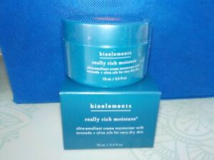 Bioelements  Really Rich Moisture Creme Moisturizer 2.5 oz.