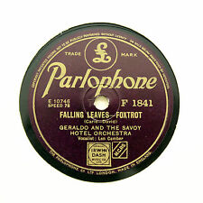 78 RPM BARGAIN BUNDLE - 5 x Geraldo & His Orchestra PARLOPHONE (E- Or BETTER)