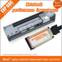 EXP GDC Laptop External PCI-E Graphics Card for Beast Expresscard V8.0 w/  US