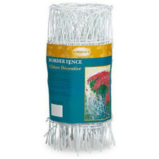 """Panacea 89307 Arch Top Style Fence Roll, White, 14"""" x 20'"""