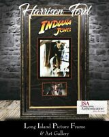 Harrison Ford Signed Indiana Jones Custom Framed Display FREE SHIP JSA  COA