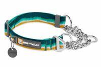 Ruffwear Chain Reaction Dog Collar - Cinch Martingale, Reflective, Aluminum