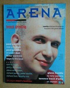 Arena. Summer 1987. No. 4. Jean-Paul Gaultier, Paul Smith, Terence Trent D'Arby