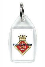 HMS DALRIADA ROYAL NAVAL RESERVE KEY RING (ACRYLIC)