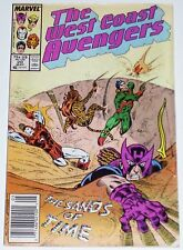 West Coast Avengers #20 from May 1987 VG- to VG+