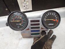 honda nighthawk instrument cluster dash panel speedometer 550 cb550sc cb550 1983