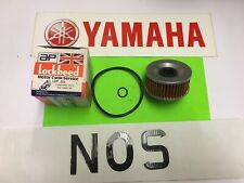 "YAMAHA XS250,XS360,XS400,XJ550,XJ650,XJ750 ENGINE OIL FILTER WITH ""0"" RINGS"
