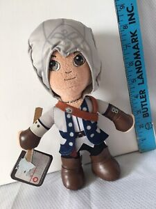 """Ubisoft Assassins Creed Video Game 9"""" Conner Plush Figure Xtreme Play New"""