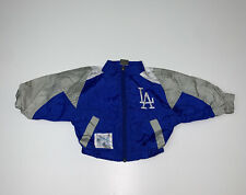 Vintage 90s Los Angeles Dodgers Windbreaker Jacket Size 12 Months Baby