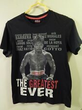"""Manny """"PAC-MAN"""" Pacquiao ~ The Greatest Ever [Size: Adult Sm] T-SHIRT ~ BOXING"""