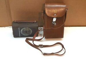 Bell Howell Filmo Auto Load 16mm Movie Camera W/ B+H ANSIX 1 Inch F/2.5 & Case