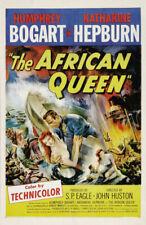 African Queen Replica 1952 Movie Poster