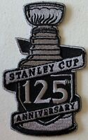 STANLEY CUP FINAL GAMES PATCH NHL 125TH ANNIVERSARY YEAR 1893-2018 STYLE JERSEY