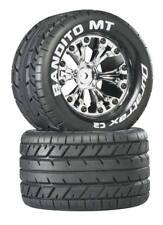 "DuraTrax DTXC3503 Bandito 2.8"" Mounted Tires / Wheels Rear Stampede Rustler M..."
