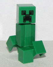 Lego New Mindcraft Green The First Knight Creeper Minifigure Droid