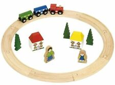 Bigjigs Figure of Eight Train Set - 40pcs