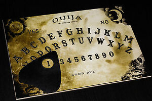 Ouija Board Game & Planchette with Detailed Instruction. Spirit ghost Hunt