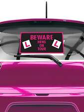 HENS ON TOUR HEN PARTY CAR WINDOW STICKERS CAR DECORATIONS HEN NIGHT PARTY