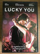 Eric Bana Drew Barrymore LUCKY YOU ~ 2007 Las Vegas Gambling Drama | UK DVD