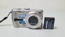 Panasonic LUMIX DMC-TZ3 7.2MP 10X Optical Digital Camera - Silver *fine/tested*